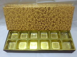 12 Cavity Chocolate Box