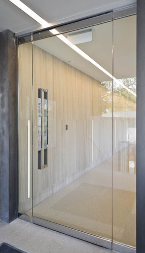 Frameless Glass Door At Rs 750 Square Feet S ढांचे