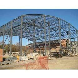 Mild Steel Factory Roofing Structure