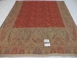 Pure Woolen Kanni Heavy Embroidered Shawls
