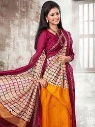 Cotton Printed Silk Sarees