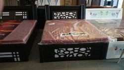 Sheesham Modern Queen Size Bed, For Bedroom