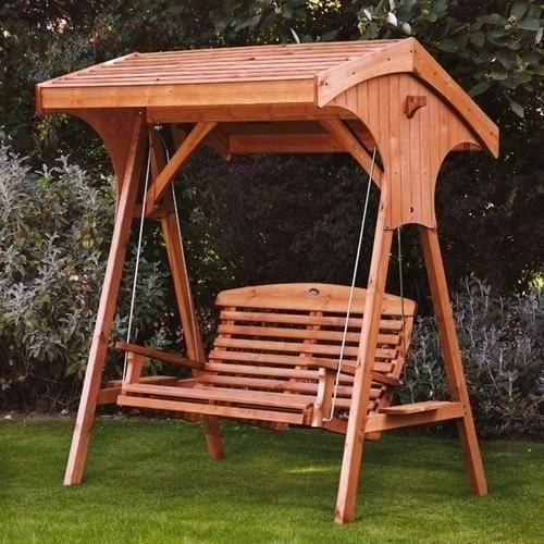 Good Wooden Garden Swing
