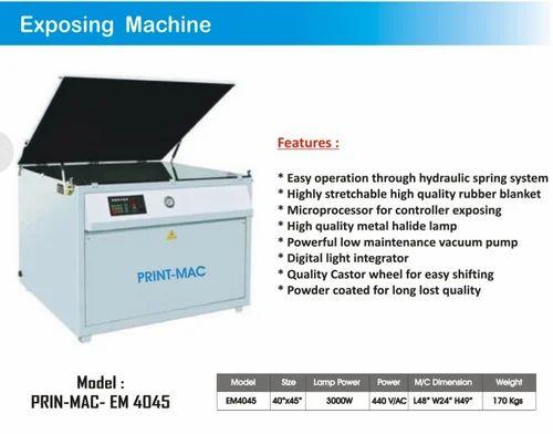 Automatic Exposing Machine