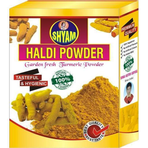 Yellow Masala Packaging Box, Rs 4.5 /piece, Omdeo Packaging | ID ...