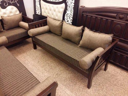 Beds Simple Designer 3 1 1 Teak Wood Sofa Set From Delhi