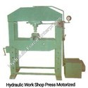 Hydraulic Work Shop Press Motorised
