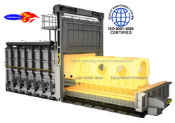Gas Operated Heat Treatment Furnace For Steel