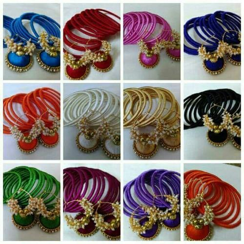 creations thread jewellery gifts bangles online handmade aishu bangle silk