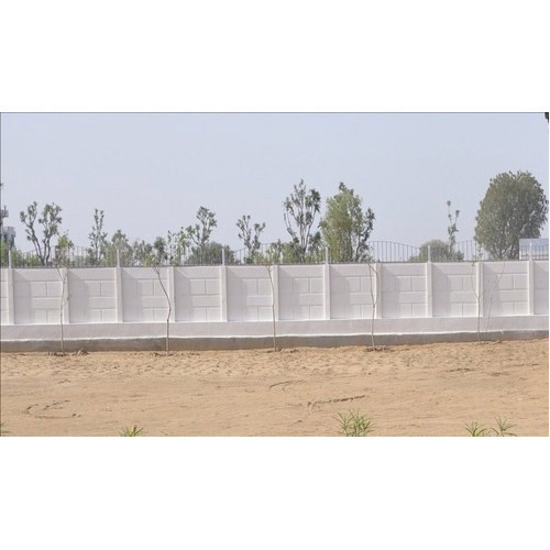 Designer Precast Boundary Wall At Rs 55 Square Feet Precast