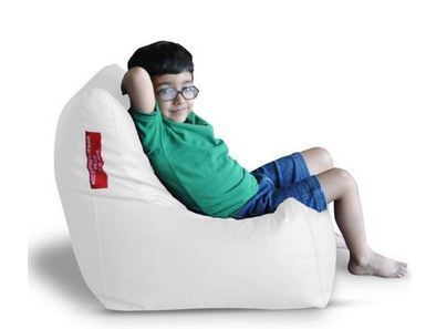 Fantastic White Bag Filler Bean Bag Chair Gamerscity Chair Design For Home Gamerscityorg