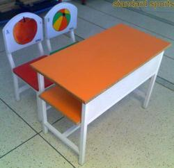 Wooden Theme Table And Chair