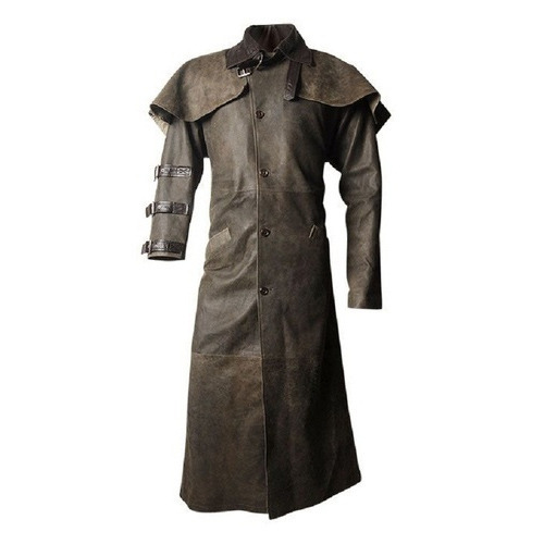 6aa7e65a9 Leather Long Coat
