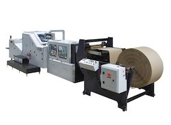 Six Colour Flexo Printing Machine with Sheet Cutting Machine