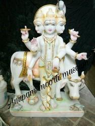 Dattatreya marble statue...