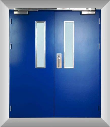 Metal Fireproof Door Dimension 8 X 4 Feet Rs 6850