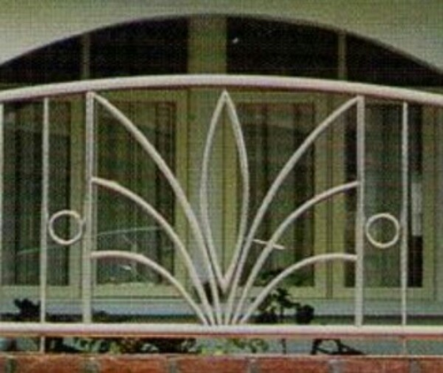 Stainless Steel Wood Wpc Balcony