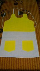 Polyester DOUBLE COLOUR DC APRON, for Kitchen