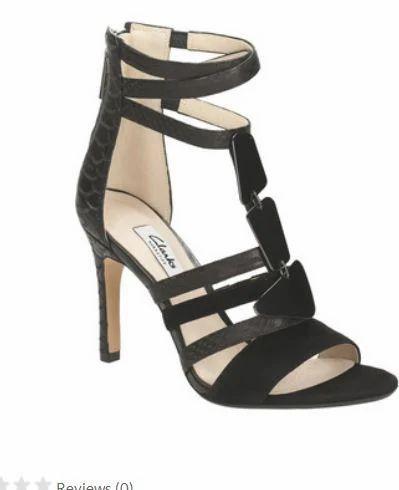 3dd96fdf1bb920 Curtain Candy Black Leather Women Sandal