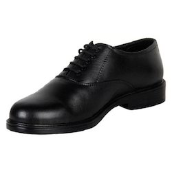 Leather Black Derby Shoes