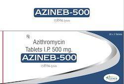 Azithromycin 500 Mg.(Azineb 500 Tablet)