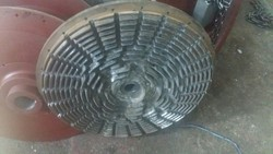 Parkash Engineers Cast Iron Grinding Disc for Rubber Crumb Plant, Size: 24 Inch