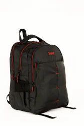 Black Polyester Laptop Backpack