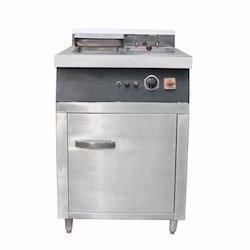 Single Deep Fat Fryer With Dumping
