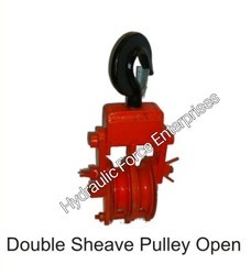 Double Sheave Pulley Open Type