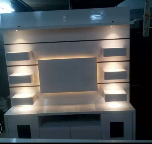 Wall Tv Unit With Led Lights
