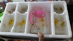 Glass Mug Set