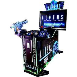 Alien Extermination Gun Shooting Arcade Video Game