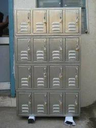 Stainless Steel Lockers 16 Doo