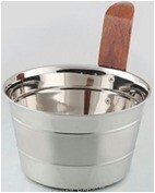 Copper Plated Stainless Steel Bati Dish