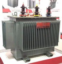 3-Phase 100kVA Oil Cooled Corrugated Radiator Distribution Transformer