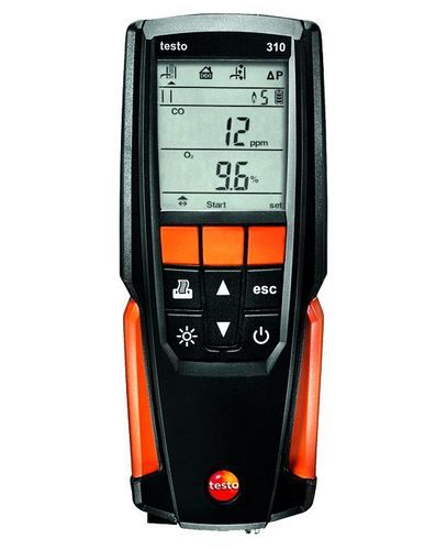 Testo 310 Flue Gas Analyzer for Industrial Use, Rs 54686 /set Visma  Instruments & Technologies Private Limited | ID: 11148541673