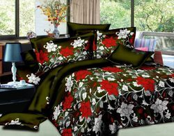 3D Bed Sheet with Pillow