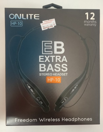 8f2be35e119 Black In-the-ear Bluetooth Headset, L-HP10, Rs 649 /number | ID ...