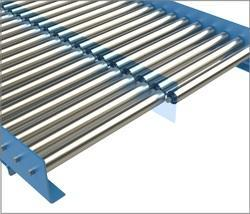 Stainless Steel Frame Roller Conveyor, Capacity: 50-100 kg per feet