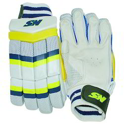 bfed99d74 SN Leather Cricket Batting Gloves Wisdom