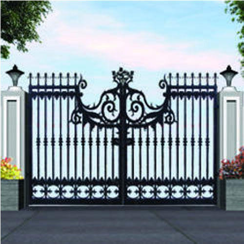 Stainless Steel Black Main Gate Metal Craft Id 4560630191