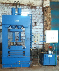 Coir Pith Block Making Machine