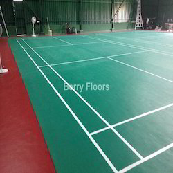 Synthetic Flooring For Shuttle Court Badminton Court