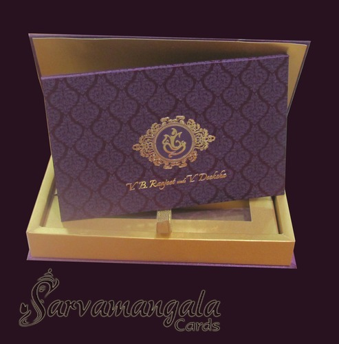 Wedding Invitation Box Wedding Invitation Box Sarvamangala Cards