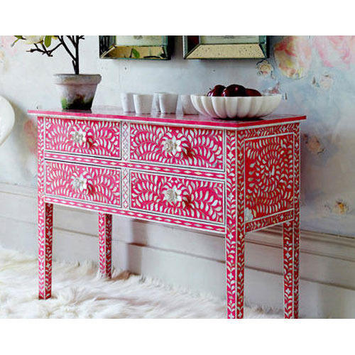 Bone Inlay Furniture - Bone Inlay Bedside Cabinet Manufacturer from ...