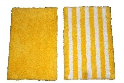 Yellow Bath Rug At Rs 695 Piece Bathroom Ke Liye Galicha