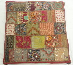 Handmade Patchwork Chair Pad
