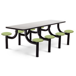 8 Seater Cafeteria Tables