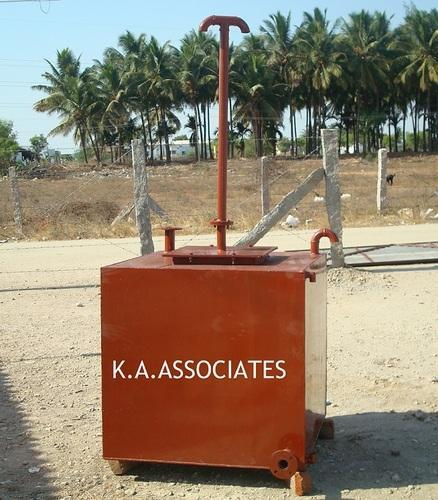 MS Storage Tank With Stand