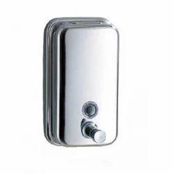 Greenizon Wall Mounted Stainless Steel Soap Dispenser, For Home,Hotel etc, Capacity: 1-1.5 Liter